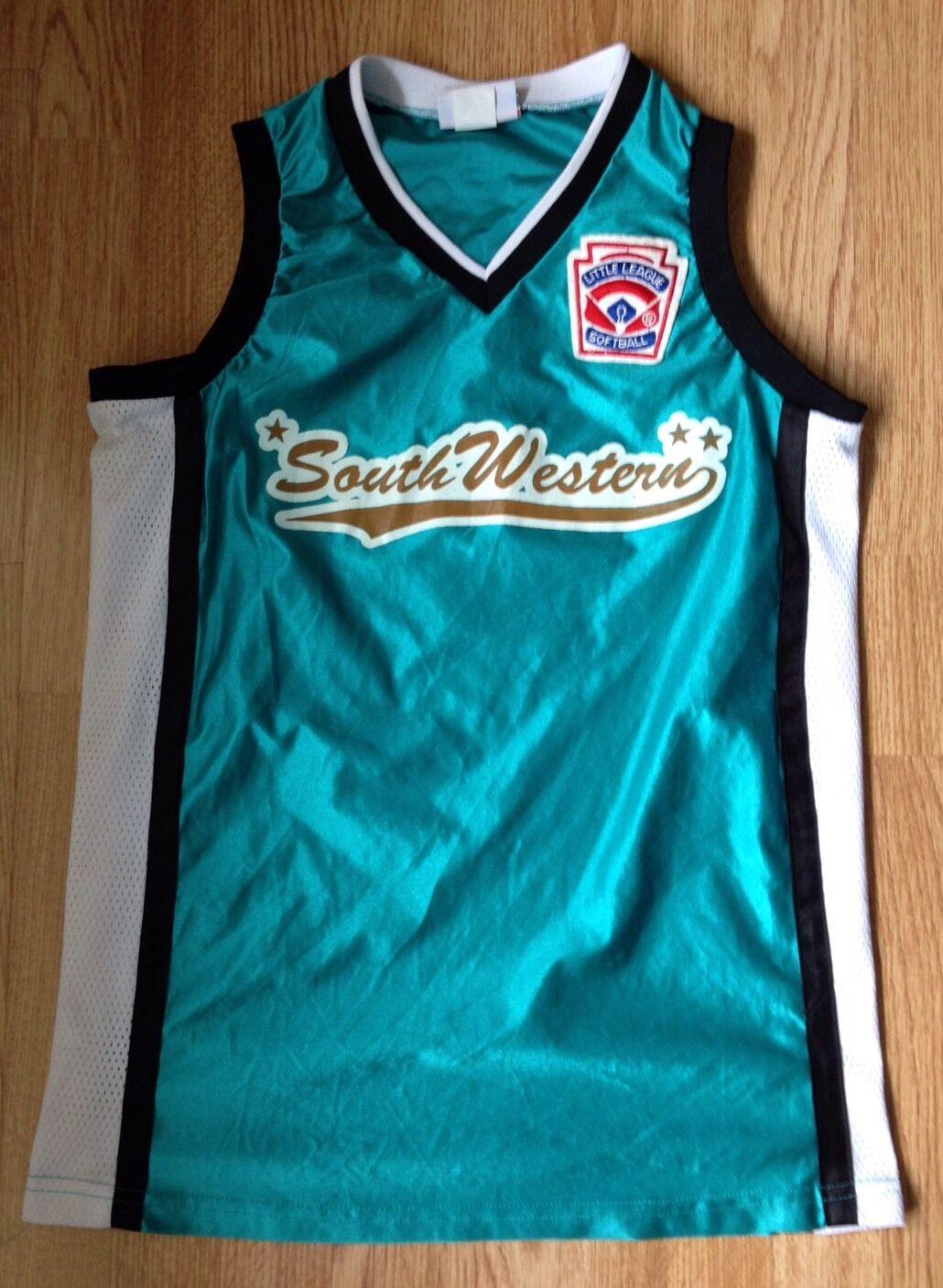 South Western Little League Vintage Sports Sports Vintage Baseball #4 Ochoa jersey swingman UK XS 368f8c