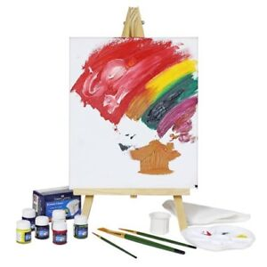 Isomars Artist Coloring Kit Creative With High Quality Wooden Easel ...