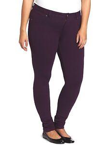 39-SOUTHPOLE-1X-2X-3X-Purple-Stretch-Knit-Slim-Fit-Skinny-Plus-Size-Pants