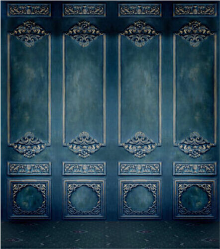5x7ft Blue Wall Indoor Scene Photography Backgrounds Vinyl Photo Shoot Backdrops