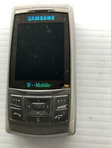 Samsung SGH-T629 Silver Slider Phone ASIS - Fast Shipping!