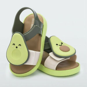 MINI MELISSA Mini Melissa Fruit Children Shoes Jelly Sandals US Size 7-12