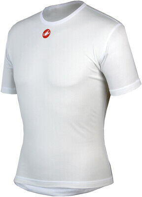 Castelli Uno Plasma Men/'s Long Sleeve Base Layer White XL and XXL ONLY