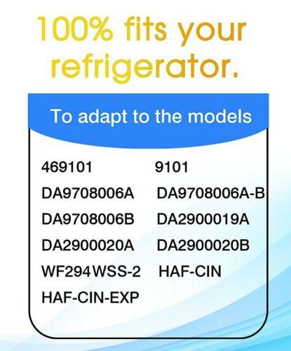 Refrigerator Water Filter Fits Samsung DA29-00020B, DA29-00020A, 46-9101