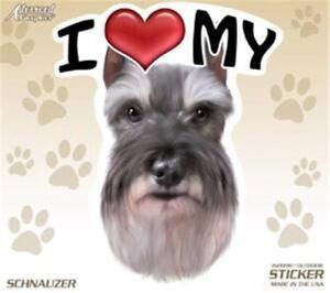 "I Love My Maltese Dog 4/"" Car Truck Home Vinyl Sticker Decal Pet Gift USA"