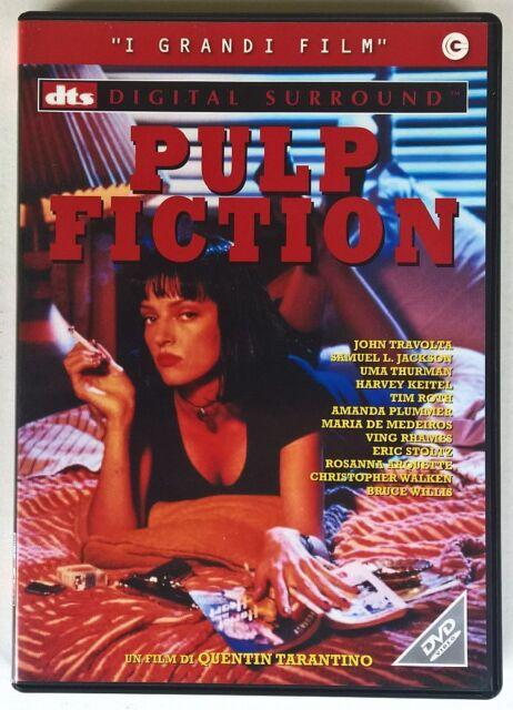 PULP FICTION DVD QUENTIN TARANTINO