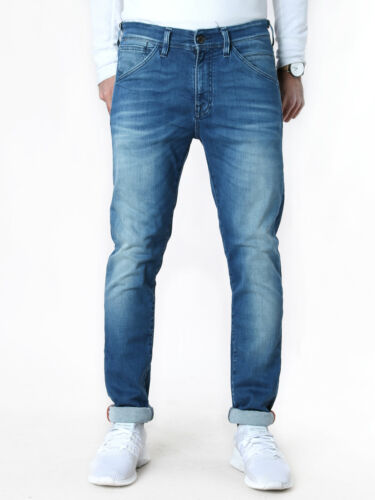 Men/'s Jack /& Jones Slim Skinny Fit Tubular-Jeans-Pants Steve Bl Super-Stretch