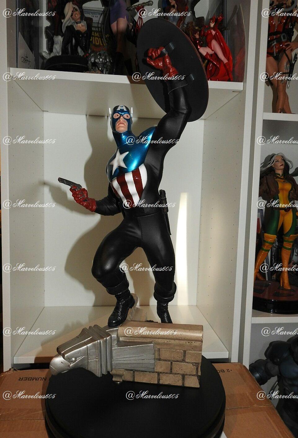 estar en gran demanda Premium Format Sideshow Collectibles James Bucky Barnes Barnes Barnes regular de Capitán América  ahorra 50% -75% de descuento