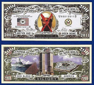 1-Superman  Dollar Bill W// clear protector sleeve Comics Fun Gift Play  Money I4