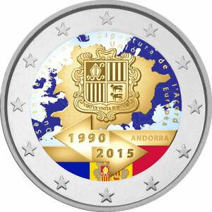 2-Euro-Andorra-2015-039-039-25-Jahre-Zollunion-mit-der-EU-039-039-coloriert