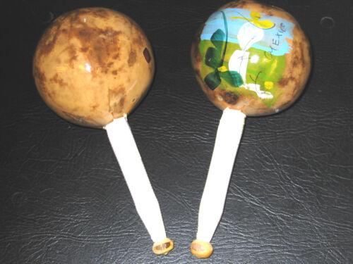 1 Paar Latino Maracas SONOR L2692 NEU aus Kalebassenfrüchten