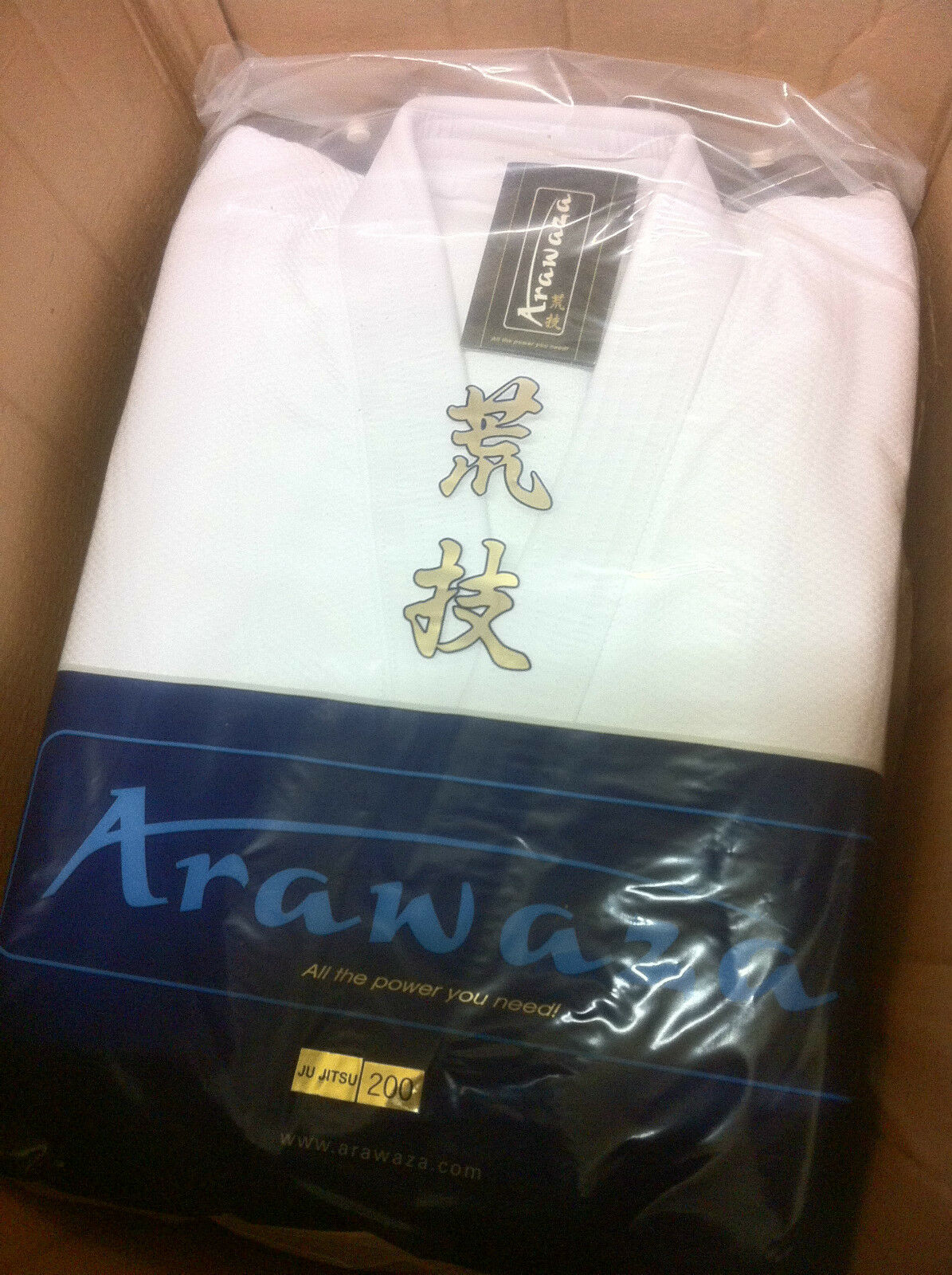 ARAWAZA ONYX  20oz Top Quality JU JITSU SUIT GI Uniform Jiu BJJ 195 200 & 205
