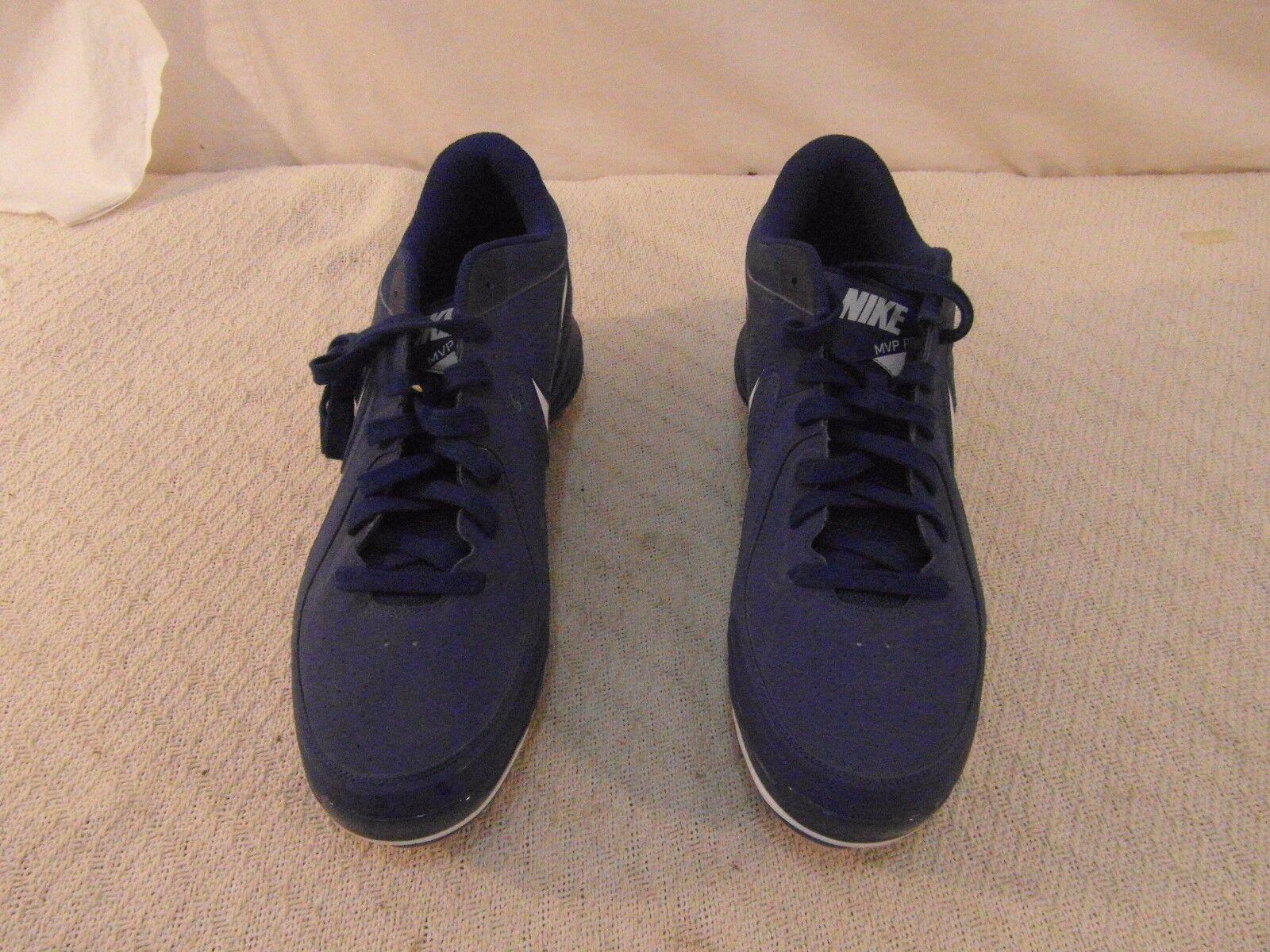 Miglior giocatore professionista di baseball degli uomini della nike, bianco e blu 13 merletto scarpe da baseball 34065