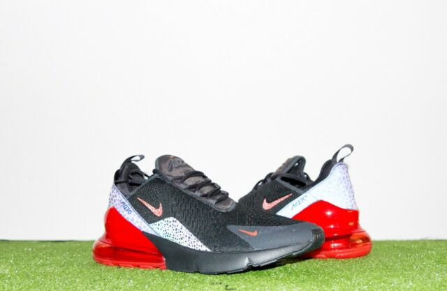 Nike Air Max 270 SE Reflective Mens Bq6525 001 off Noir Red Grey Shoes Size 9