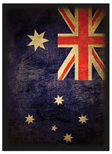100ct Max Pro Standard Size MTG Deck Shuffle-Tech Sleeves AUSTRALIA Flag