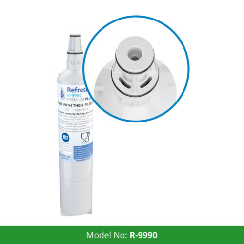 2 Pack Fits LG 5231JA2006B-S Refrigerators Refresh Replacement Water Filter