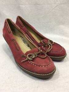 Sperry Top Sider Womens Slipon Leather.10