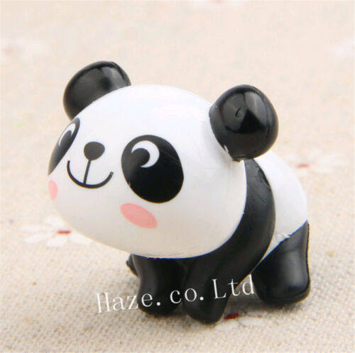 8pcs//set Panda Cute Figure Toy Home Decoration Statue Xmas Gift Great Toy