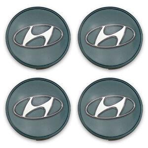 FREE SHIPPING 99-06 Hyundai Tucson Azera Genesis Wheel Center Caps Hubcaps 1