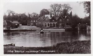 Beetle-amp-Wedge-Pub-Moulsford-Ferry-Nr-Goring-unused-RP-old-pc