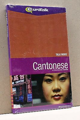Cantonese [cd-rom, Talk More, Beginners, Eurotalk Language Learning Windows/mac]