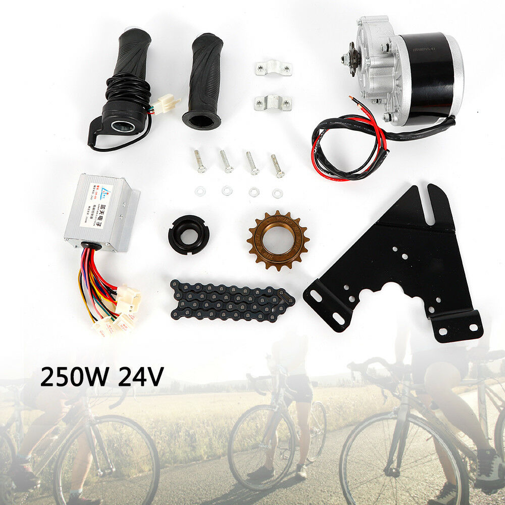 24V 250W Electric Bike Conversion Motor Controller  Kit For 16-28  Common Bicycle  not to be missed!