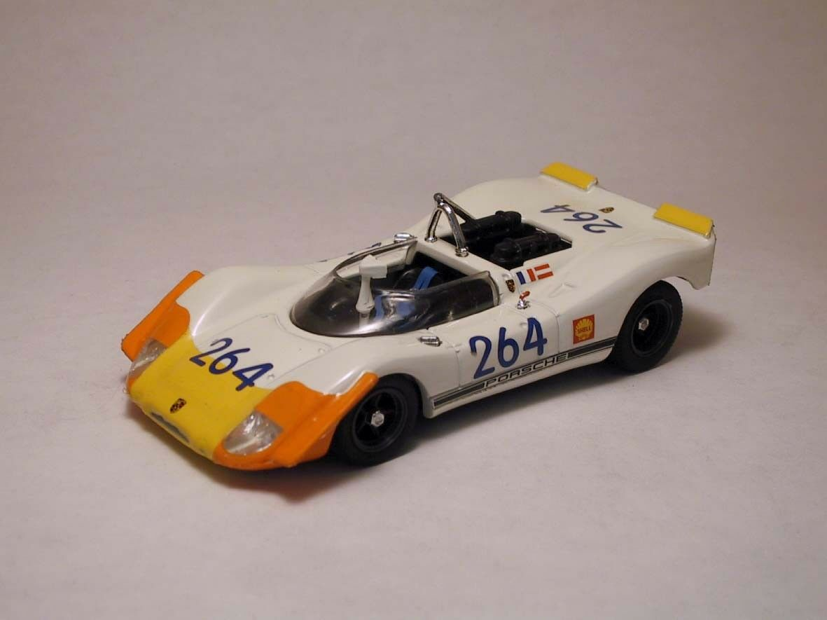 Porsche 908-02  264 21th targa florio 1969 G. larrousse  1 43 model Beste models  rentable