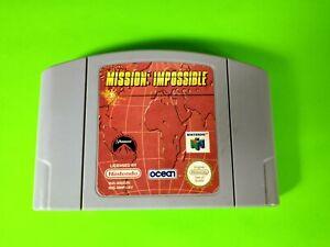 Misión Imposible-Nintendo 64 Cartucho sólo-N64-limpiado & Probado