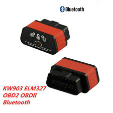 KW901 ELM327 Bluetooth OBD2 OBDII Auto Fault Code Reader Diagnostic Scanner Tool