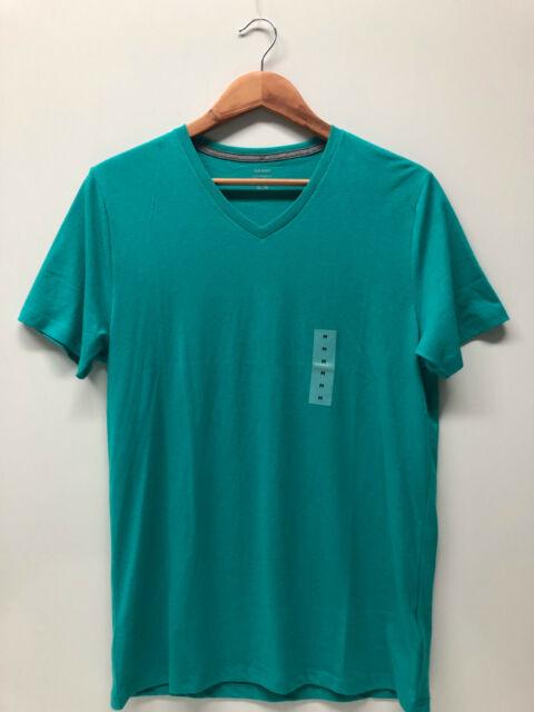 9febec92d0d Old Navy Men Short Sleeves Soft Washed Tee T-shirt Size L Green V ...