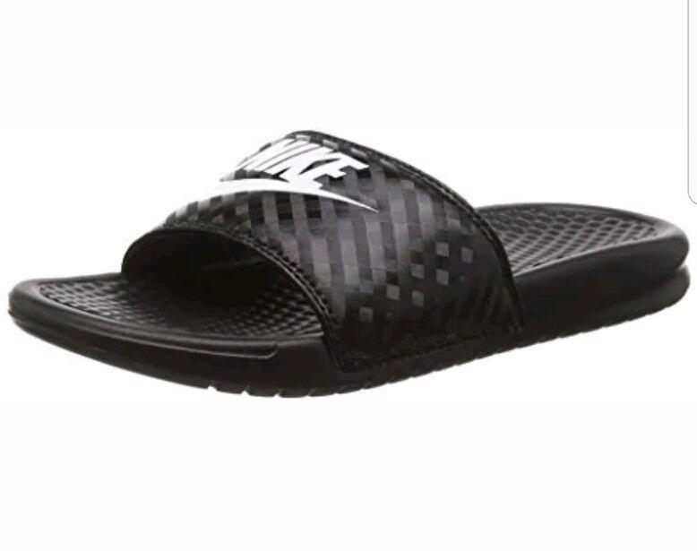 Nike donna benassi jdi sandalo 343881 011 dimensioni 6 | Il materiale di altissima qualità  | Gentiluomo/Signora Scarpa