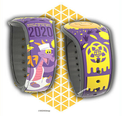 Disney Epcot Festival Of The Arts 2020 Figment Limited Edition 2000 Magicband Ebay