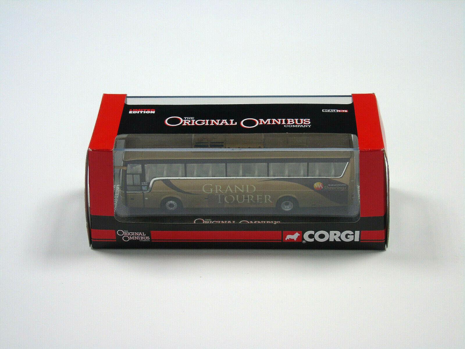 Om45909 Corgi de Metal 1 76 Escala Furgoneta Hool T9 Wa Shearings Grand Tourer
