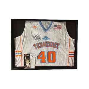 purchase cheap eb62f ba71d Details about Shekinna Stricklen signed Tennessee Lady Vols Adidas White  Jersey Framed 19x25