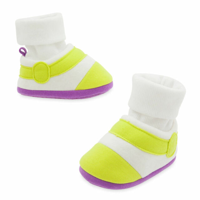 NWT Disney Store Buzz Lightyear Baby Shoes Costume 0-6, 6-12, 12-18, 18-24M