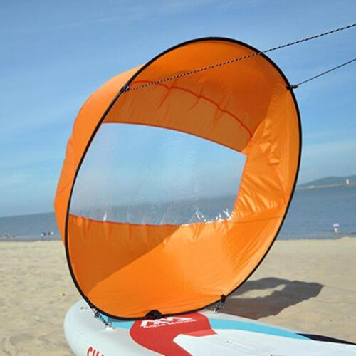 42/'/' Foldable Downwind Wind Paddle Popup Board For Canoe Kayak Sail Accessories