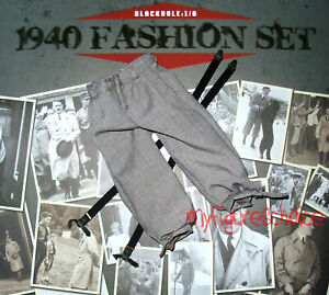 Blackhole German 1940 fashion set waistcoat 1//6 toys Soldier DID 3R Alert WWII