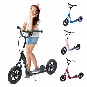Teen-Push-Scooter-Kids-Children-Stunt-Scooter-Bike-Bicycle-Ride-On-12-034-Tyres-New