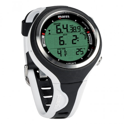 Mares Computer per Sub Immersioni da Subacquea Smart Dive Bianco Wrist Dive 1IT
