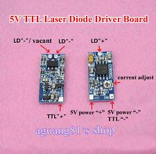 635nm 650nm 808nm 980nm TTL Laser Diode Driver Board Drive 5V Supply 50-300mA