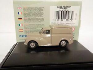 Model-Car-Morris-Minor-Van-Beige-1-76-New