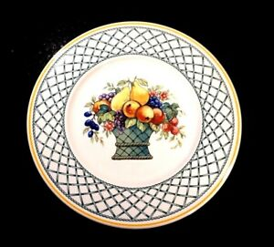 Beautiful-Villeroy-Boch-Basket-Salad-Plate