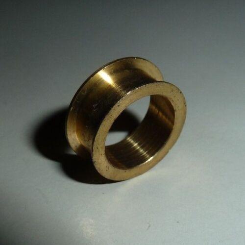 Ø 10mm; H 5,5mm// 4,2mm Buchse; Außen Ø 13,5mm// 12mm// 14,5mm; Innen Messing