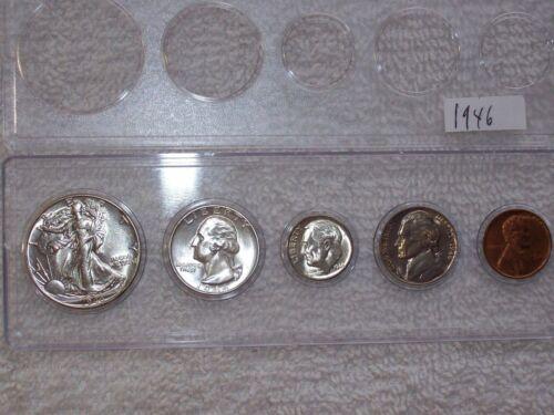 1946-P Choice Uncirculated to GEM BU U.S Coins Silver Mint State Set-RARE!!!!