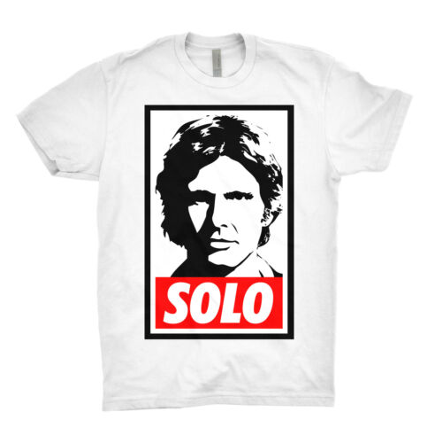 Han Solo T Shirt Movie Millennium Falcon Star Wars Darth Vader Chewbacca S-XXXL