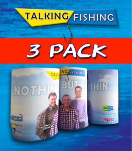 Talking-Fishing-Official-2019-Stubby-Holder-3-Pack-inc-Postage