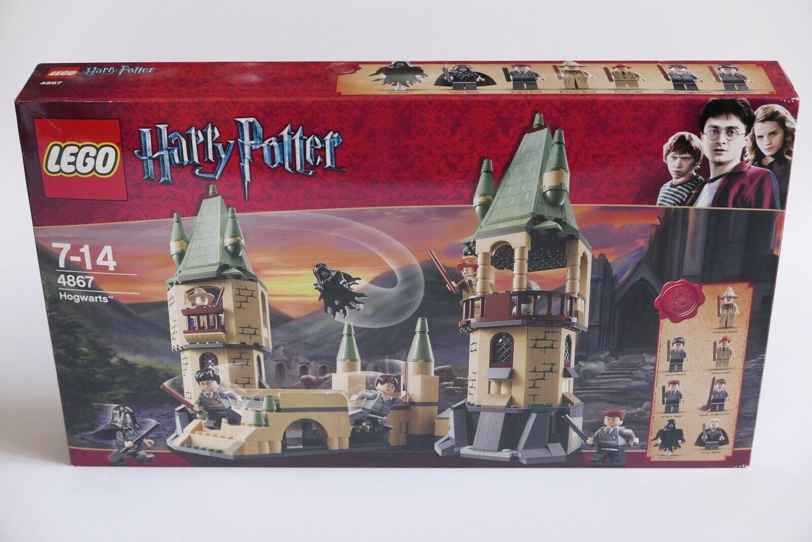 Lego Harry Potter 4867 Hogwarts New sealed rare nuevo