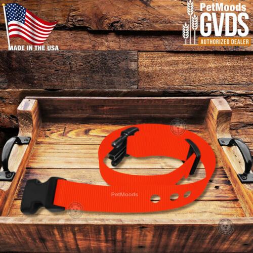 """GVDS Dog Collar Strap 1/"""" Replacement Strap for SportDOG In-Ground Fence SDF-R"""