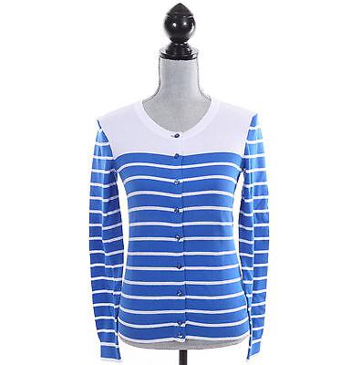 Tommy Hilfiger Women Stripe Long Sleeve Cardigan Pullover Sweater - Free $0 Ship