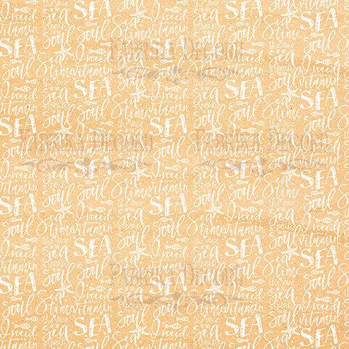 "8/"" X 8/"" Scrapbooking PAPERPAD cartonné sea SOUL 10 Designs x 2 Feuilles"